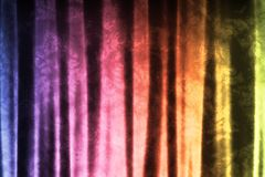 Rainbow Abstract Texture Background. In Soft Waves Patterns Stock Photos