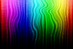 Rainbow Abstract With White Rain Royalty Free Stock Photos