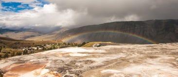 Rainbow Across Mt. Everts Royalty Free Stock Photo