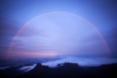 Rainbow at Adam's peak Royalty Free Stock Images