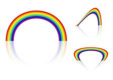 Rainbow angle Stock Photos
