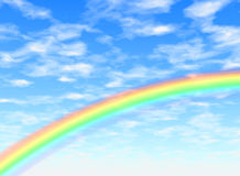 Rainbow arc Royalty Free Stock Photos