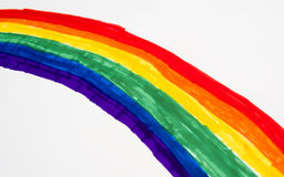 Rainbow arch Royalty Free Stock Photos