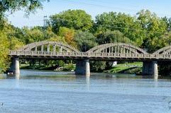 Rainbow Arch Bridge Royalty Free Stock Photos