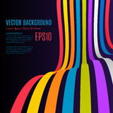 Rainbow Arrows Background. Vector illustration for your business presentations. Vector eps10 Royalty Free Stock Photos