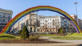 The Rainbow, art installation Royalty Free Stock Photos