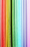 Rainbow Art Paper Background Royalty Free Stock Photography