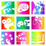 Rainbow arts Stock Photography