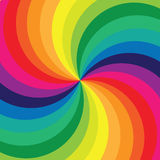 Rainbow astratto Immagini Stock Libere da Diritti
