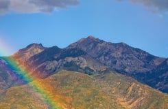 Rainbow and Autumn Colors Royalty Free Stock Photos
