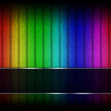 Rainbow backdrop Royalty Free Stock Photos