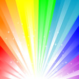 Rainbow background. Abstract  illustration of a rainbow background Stock Photography