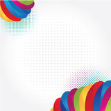 Rainbow background. With modern detale Royalty Free Stock Photos