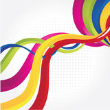 Rainbow background. With modern detale Royalty Free Stock Photography