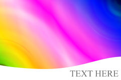 Rainbow Background. Abstract Vivid Rainbow Colors Background Stock Photo