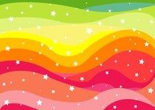 Rainbow Background Stock Photography