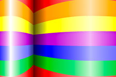 Rainbow background Royalty Free Stock Image