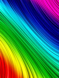 Rainbow background. A background of abstract , colorful lines Stock Photos
