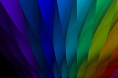 Rainbow Background. Colorful abstract background - 3D Render by me Stock Image