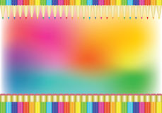 Rainbow background Royalty Free Stock Photo