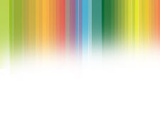 Rainbow background. Abstract rainbow stripes in white background Stock Images