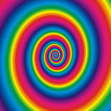 Rainbow background. Abstract background of Revolve rainbow Stock Images