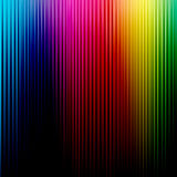 Rainbow background. Abstract rainbow color with black background Royalty Free Stock Photo