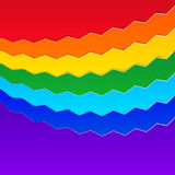 Rainbow Background. Abstract Colorful Vector Illustration Royalty Free Stock Images