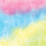 Rainbow background. Abstract romantic Rainbow Background illustration Royalty Free Stock Images