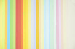 Rainbow background with colored paper Royalty Free Stock Photo