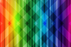 Rainbow background colorful intersect pattern. Rainbow background. Bright colorful design with intersect pattern light Stock Photography