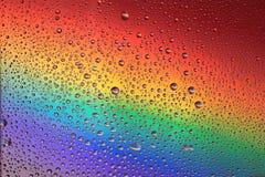 Rainbow drops background Royalty Free Stock Photo