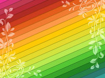 Rainbow background Stock Photo