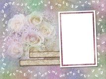 Rainbow background-frame Royalty Free Stock Photos