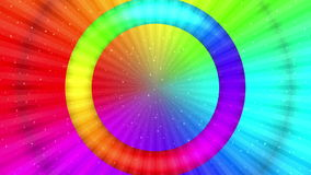 Rainbow background, Seamless Loop stock video