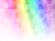 Rainbow background sky Royalty Free Stock Photos
