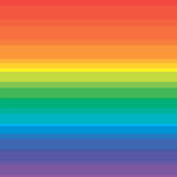 Rainbow Background for Summer. Stock Photos