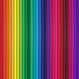 Rainbow background. Vector Background  with abstract realistic rainbow lines Royalty Free Stock Image