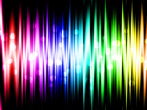 Rainbow Background wallpaper Royalty Free Stock Photography