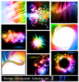 Rainbow Backgrounds Collection - Set 3 Stock Images