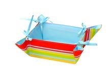 Rainbow basket Stock Photo
