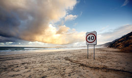 Rainbow Beach Stock Images