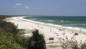 Rainbow Beach in Queensland Stock Photography