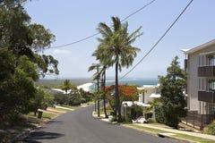 Rainbow Beach in Queensland stock image
