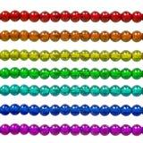 Rainbow Bead Stock Photo