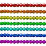 Rainbow bead Stock Photo