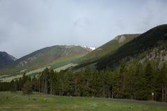Rainbow at Beartooth Pass. Stock Photography