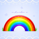 Rainbow beautiful Royalty Free Stock Photos