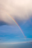Rainbow below cloud base Stock Photo
