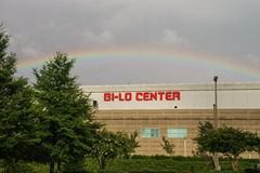Rainbow Bi-Lo Center Stock Image